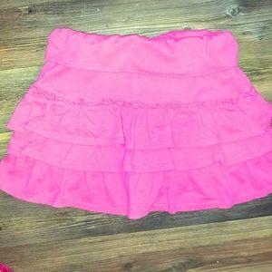 5/25$ pink skirt